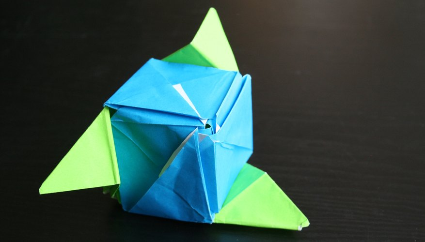 How To Make An Origami Magic Rose Cube Our Pastimes