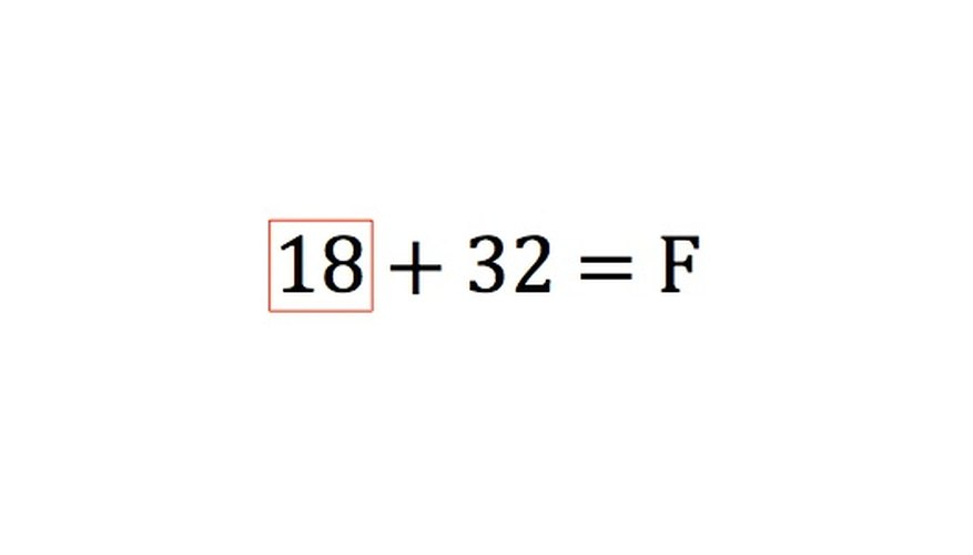Ninety divided by 5 equals 18.