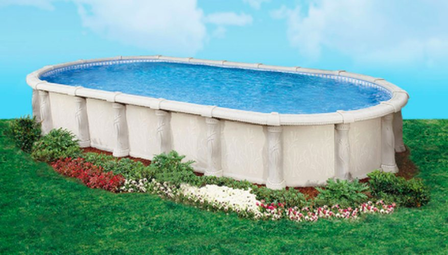 Doughboy makes prefabricated pools suitable for above-ground and partially submerged applications.