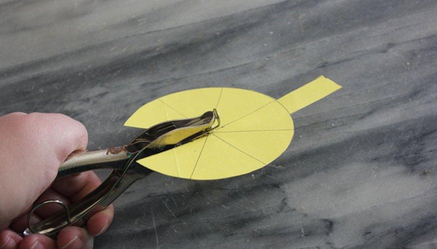 Haz un agujero en el centro del bloque de luz.