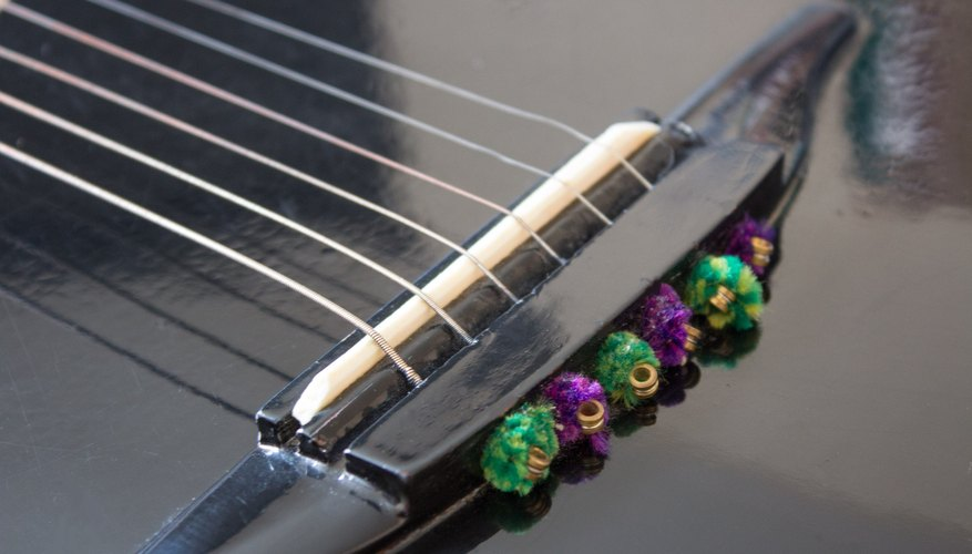 How To Make Your Own Acoustic Guitar Saddle Our Pastimes