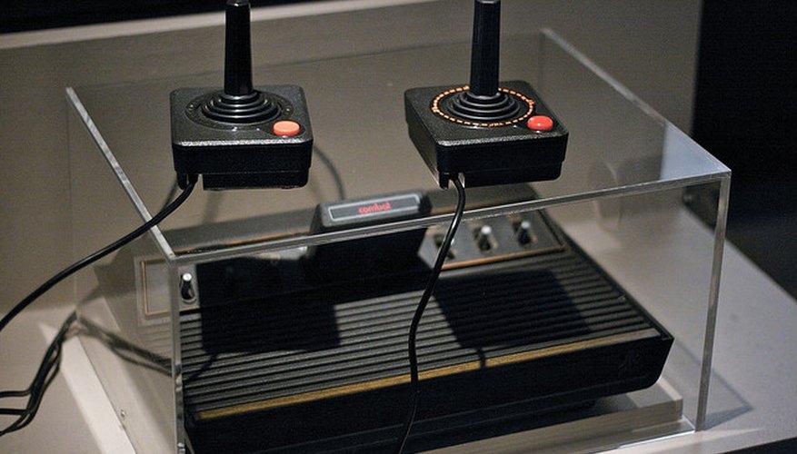Imagen de una de las primeras versiones de la consola producida por Atari