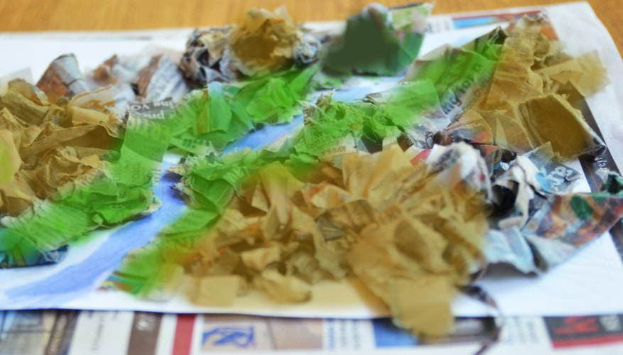 How To Make A 3d Topographic Map.How To Make A 3d Topographic Map For A School Project Sciencing