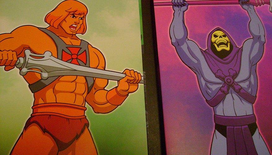 Imagen de He-Man y Esqueletor, dos de los personajes más famosos de la serie
