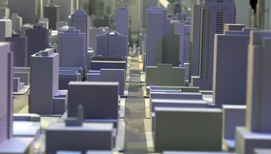 how to make hydraulic city model