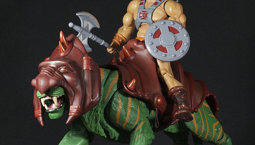 Imagen de dos muñecos de He-Man