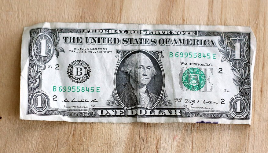 Detecta un billete de dólar falso