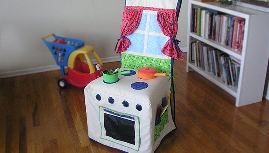→ Cómo hacer una funda para silla con forma de cocina para niños ...