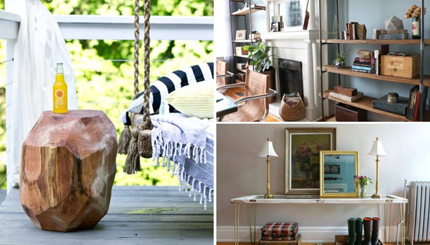 How To Make Rustic Furniture