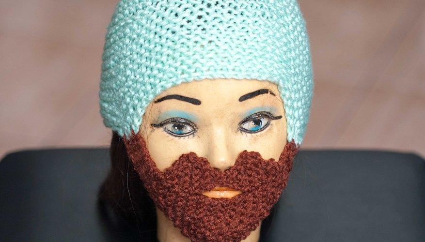 Usa un gorro de barba.