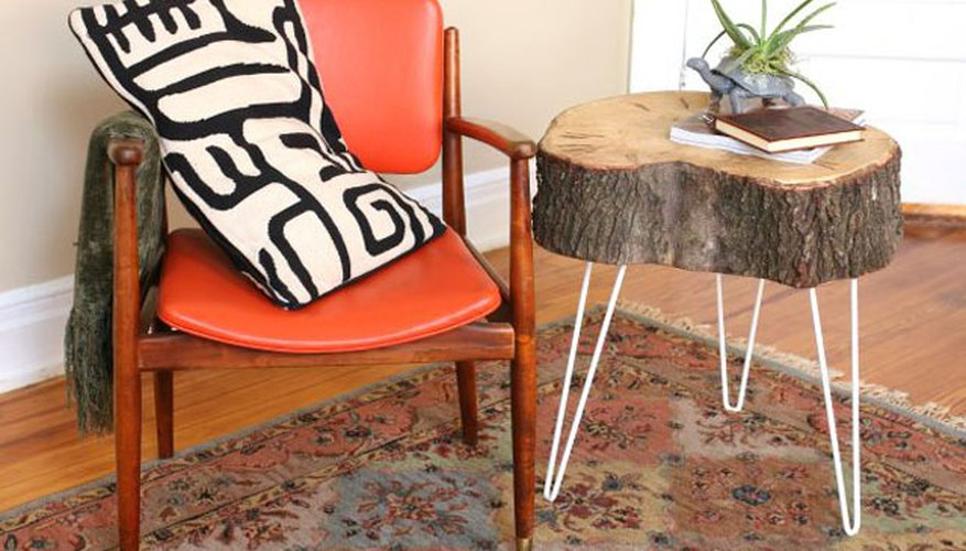 ... These End Tables Are A Great Addition To Any Seating Area. Plus, The  Hairpin Legs Balance The Boldly Rustic Tabletop With A Mid Century Modern  Touch.