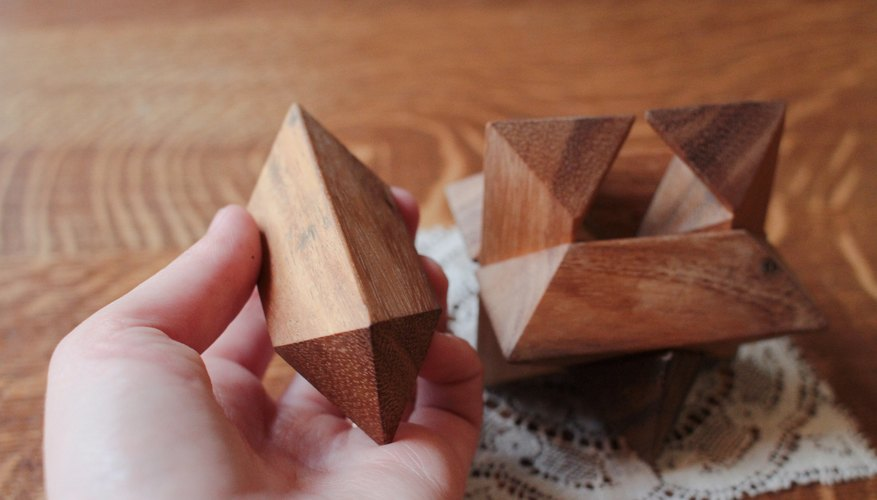 How To Solve A 6 Piece Wooden 3d Puzzle Star Our Pastimes