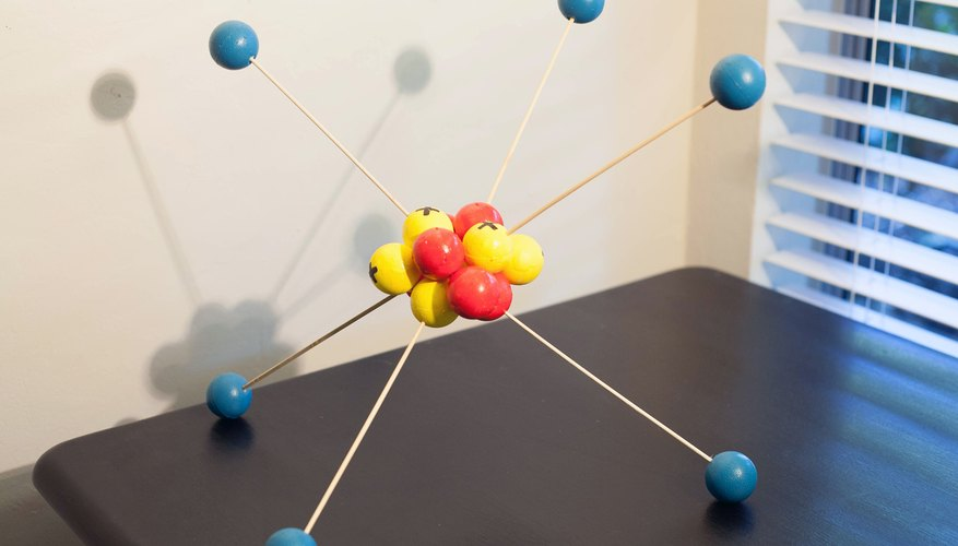 How To Make A 3d Model Of An Atom Sciencing