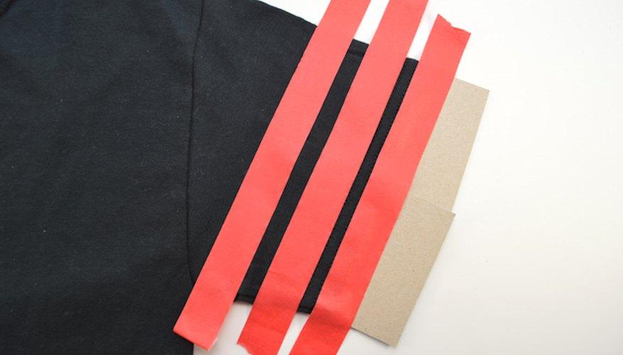 Posiciona las rayas en paralelo unas con otras.