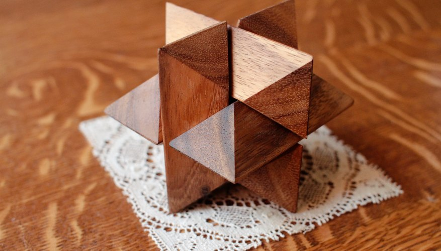 How to Solve a 6-Piece Wooden 3D Puzzle Star | Our Pastimes