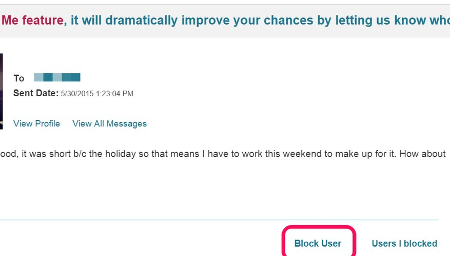 How Do I Be versed If Im Blocked On Pof