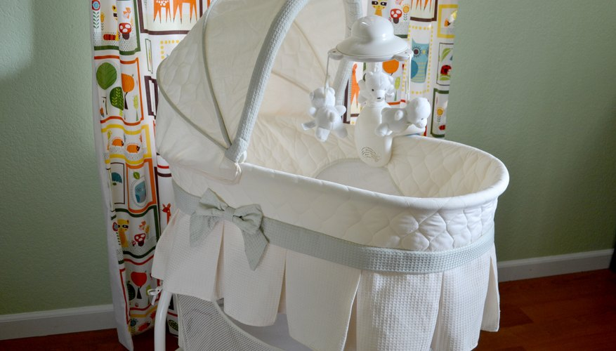 how to put a bassinet back together