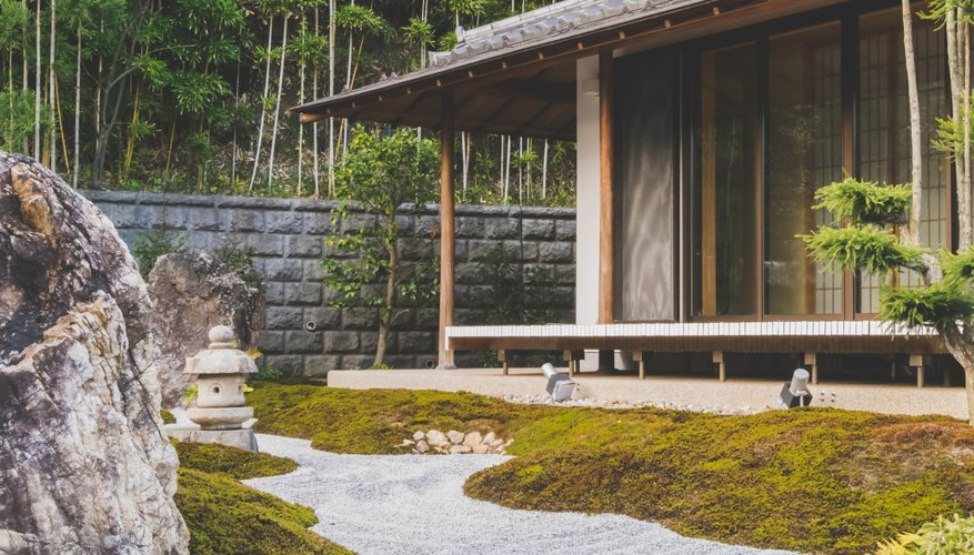 Moss looks great in a Japanese garden but not as good on a lawn or on the roof.