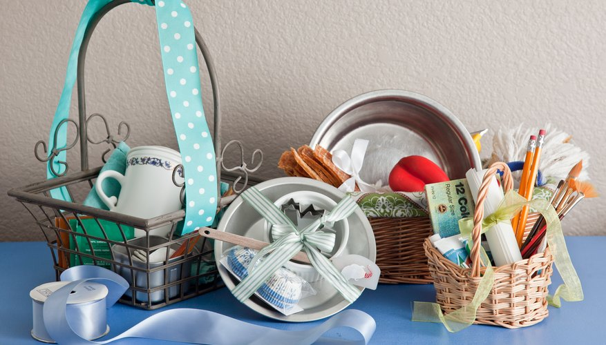Picnic Basket Relay : Silent auction basket ideas bizfluent