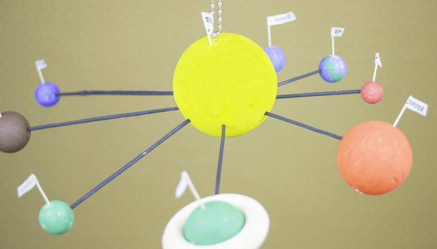 How to Make a Model of the Solar System | Sciencing