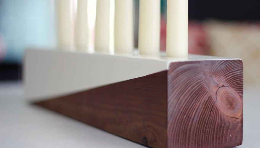Wood detail.