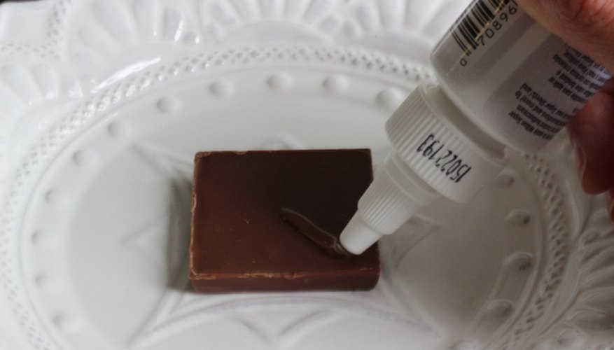 Add a line of edible adhesive.