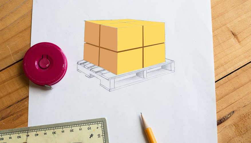 How to calculate pallet size bizfluent how to calculate pallet size ccuart Gallery