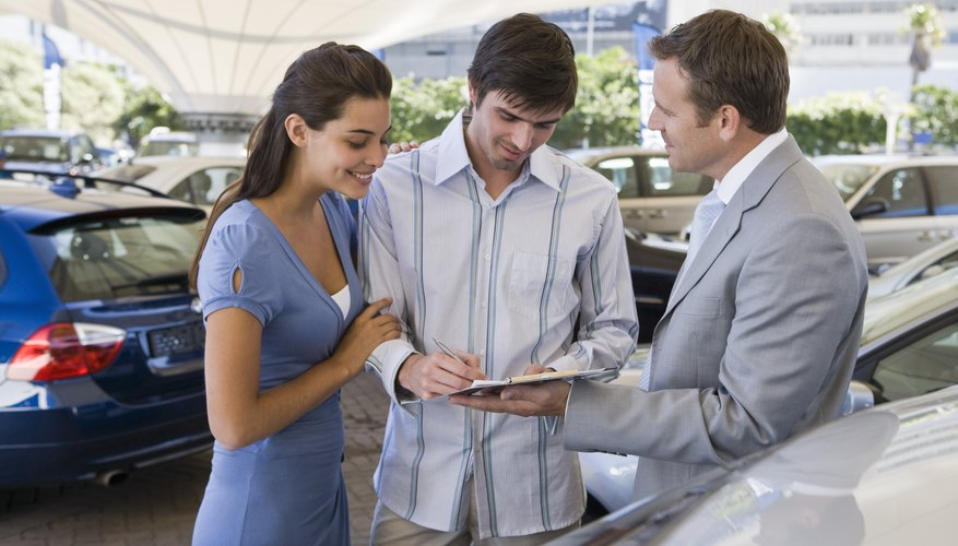 Car leases have lower up-front costs than buying.