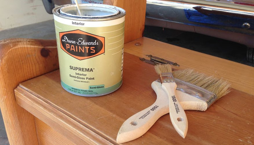 Gather up your paint and paintbrushes.