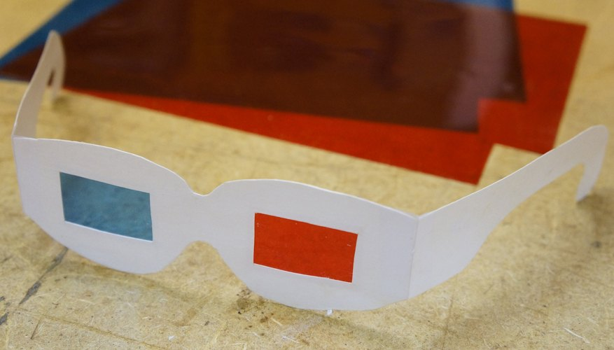 Make your own 3D glasses!