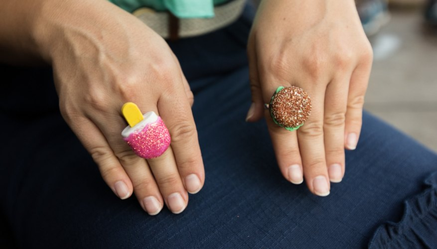 I have always wanted a hamburger ring.