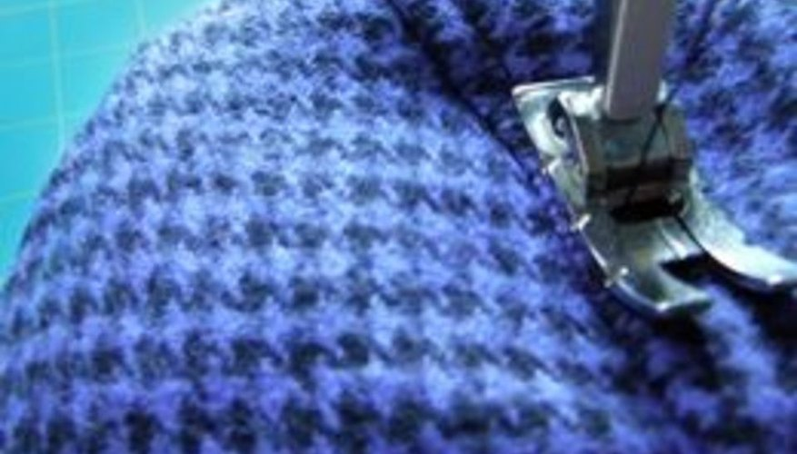Top-stitch close to the edge.