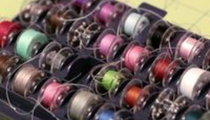 Find an empty bobbin.