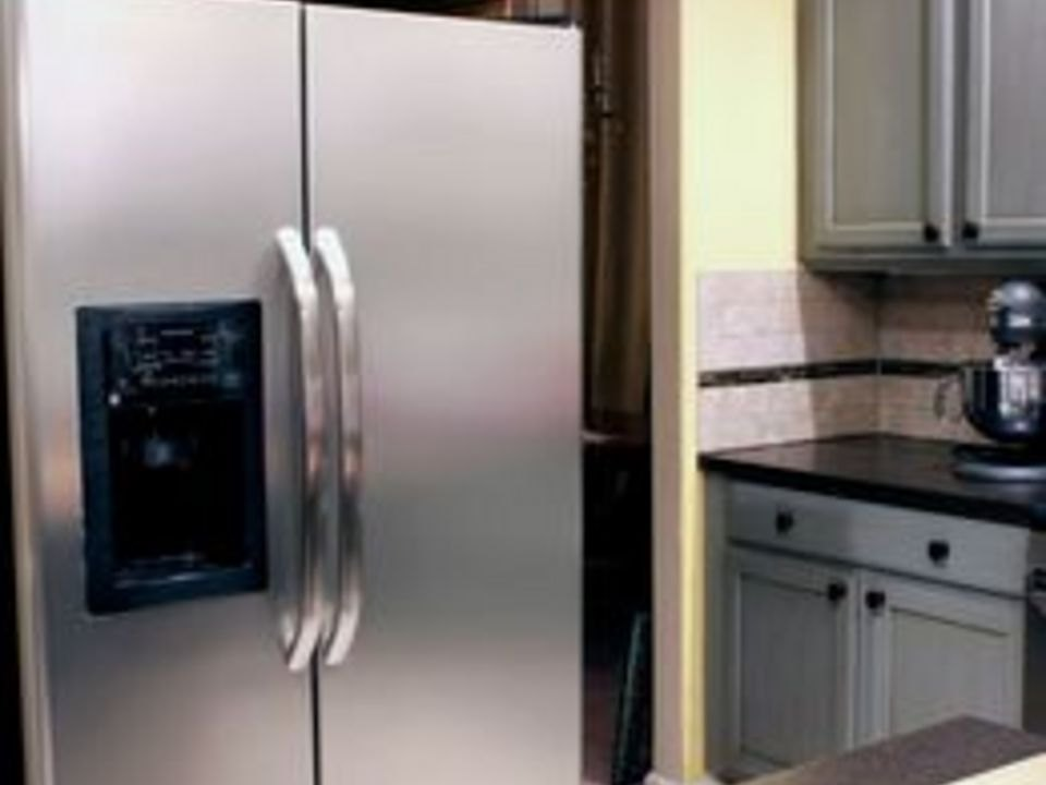 How To Clean A Stainless Steel Fridge With Pictures Ehow