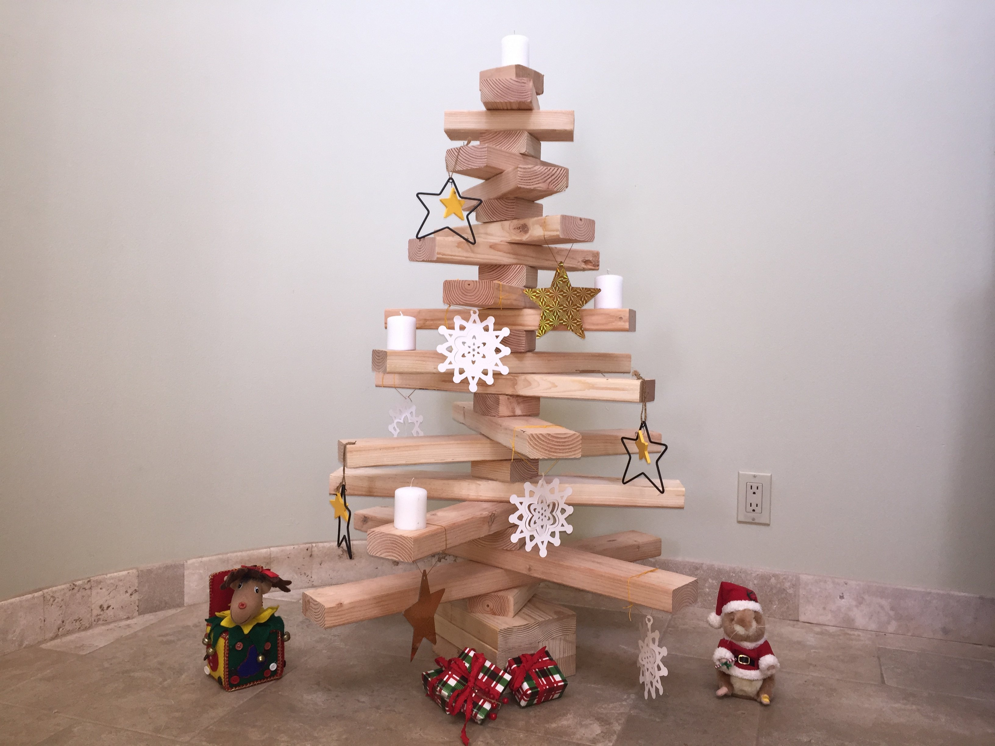 How To Make A Wooden Christmas Tree (with Pictures)