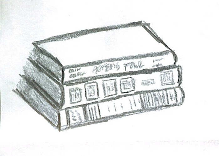 Book Cover Drawing Easy : How to draw books with pictures ehow