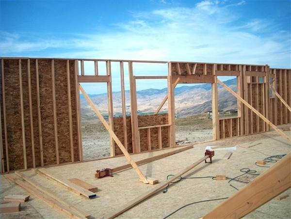 How To Frame Exterior Walls Ehow