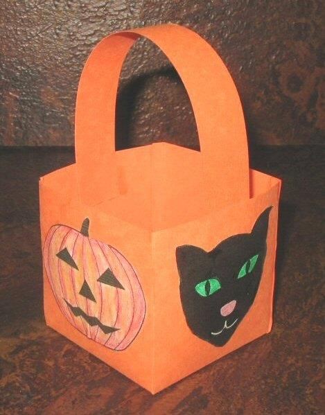 Boo Pumpkin Template