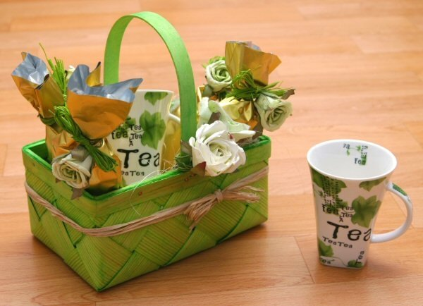 Themes For Gift Baskets: How To Make A Tea Gift Basket