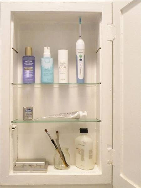 Do It Yourself Home Design: How To Build A Recessed Medicine Cabinet
