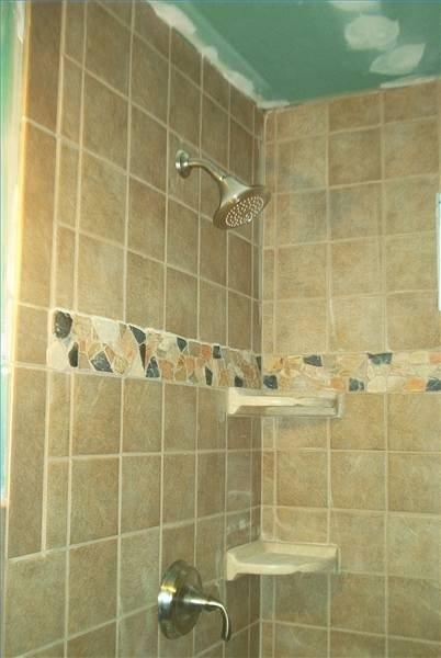 How to clean mold on shower grout ehow for How to clean bathroom grout mold