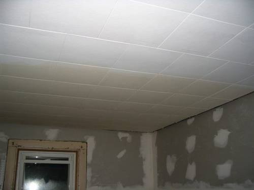How To Paint Ceiling Tiles With Water Damage Ehow