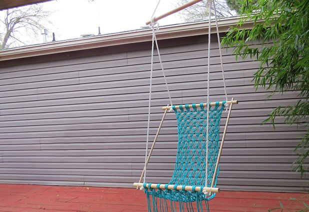 How To Make A Macrame Hammock With Pictures Ehow