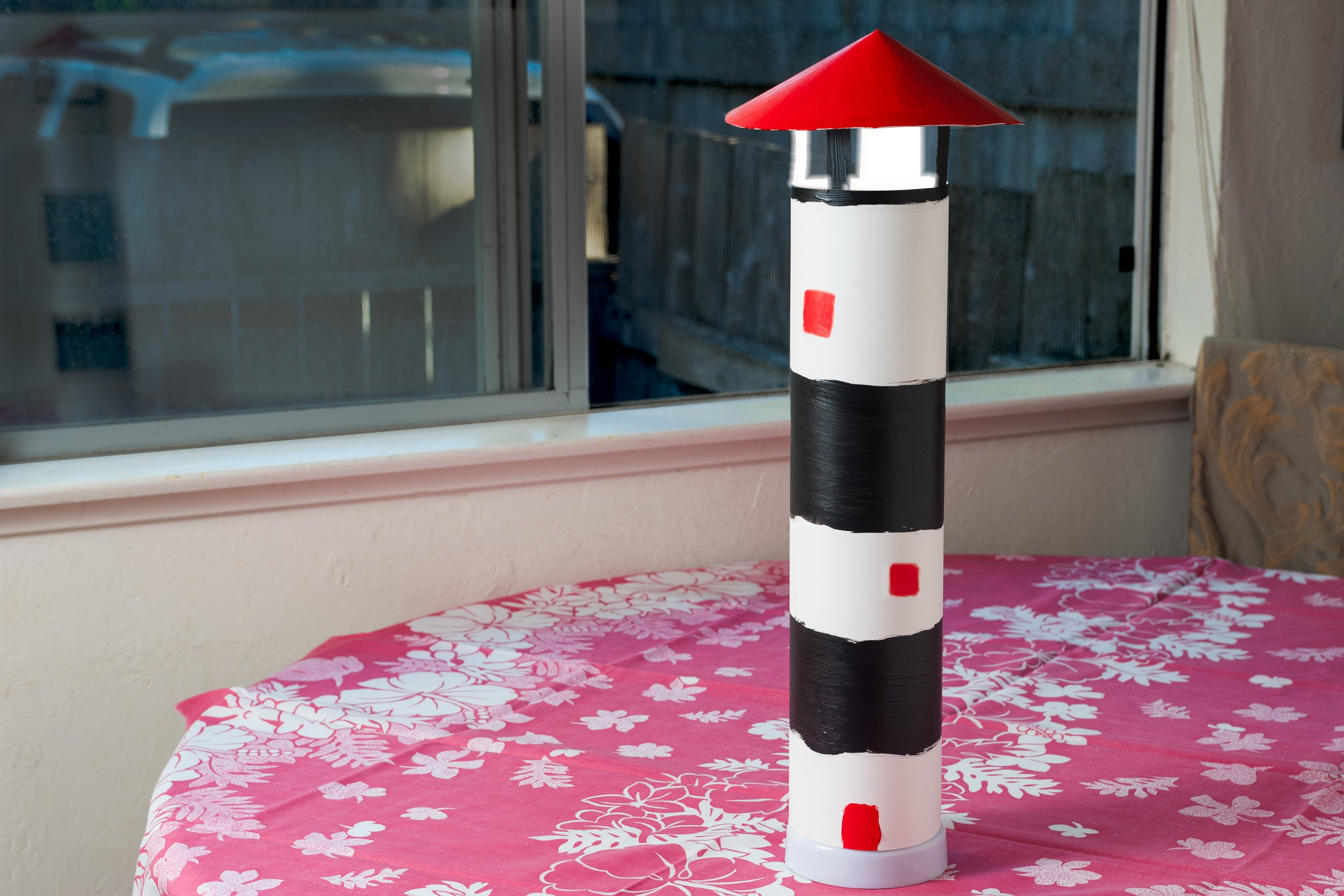 How To Build A Lighthouse Out Of Cardboard With Pictures