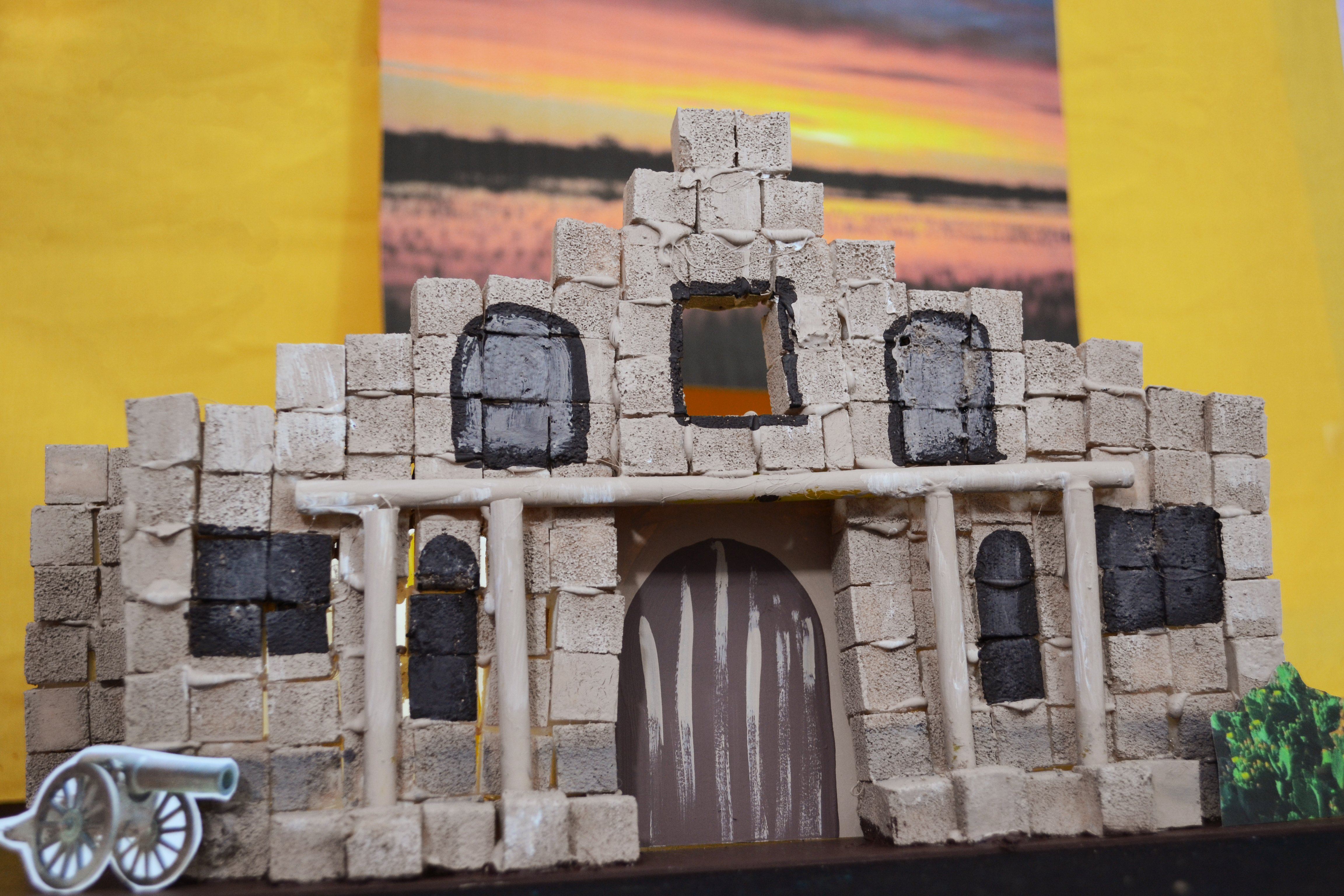 How Build The Alamo For School Project Pictures