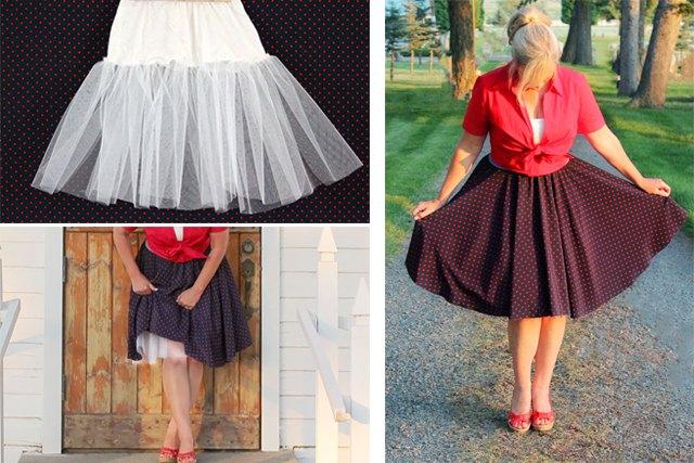 How To Make A Crinoline Skirt 94