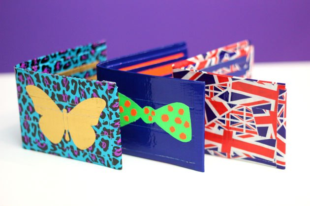 How To Make Duct Tape Wallets With Pictures Ehow