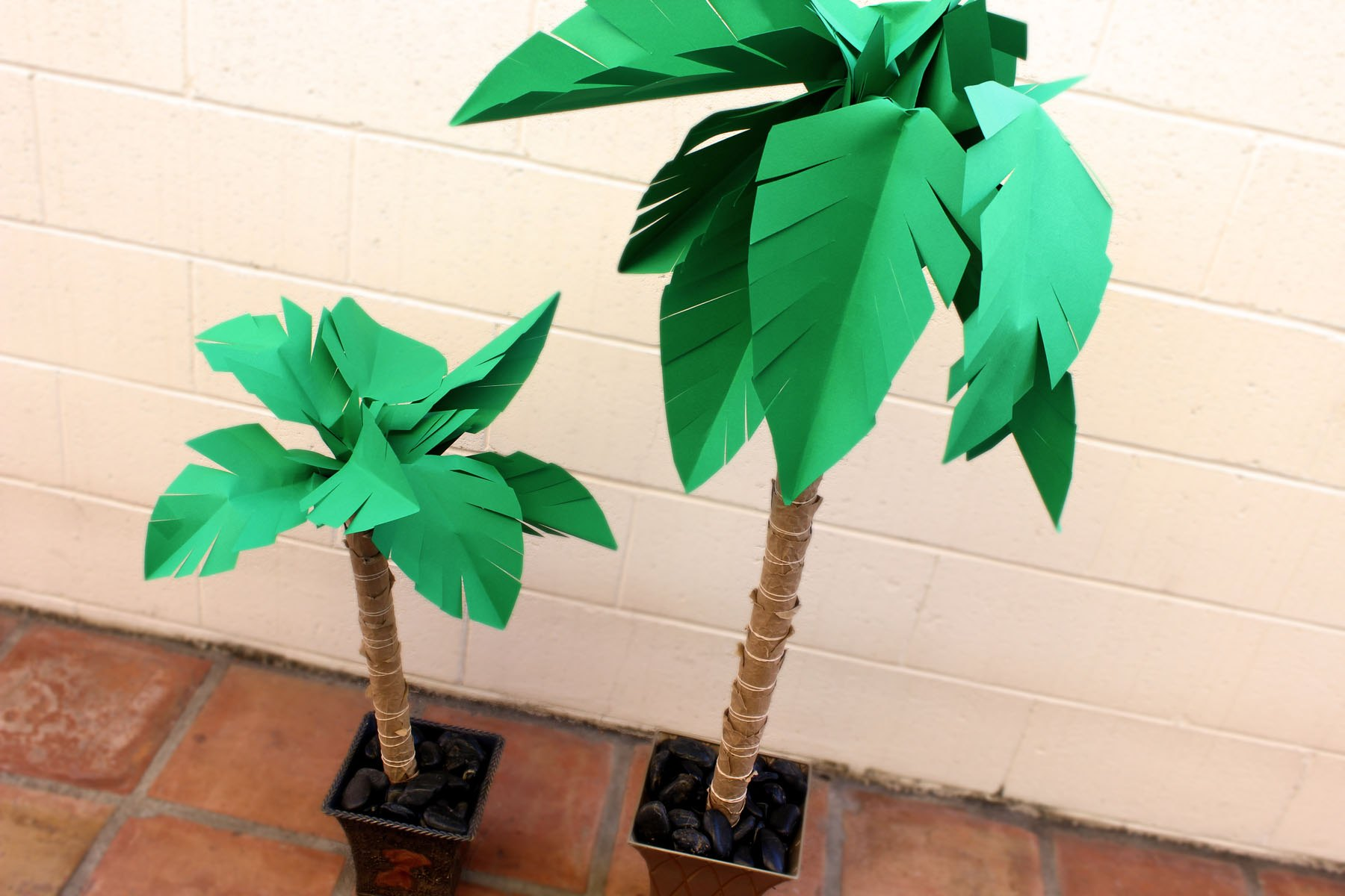 How To Make A Paper Palm Tree With Pictures