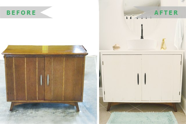 How To Convert A Dresser To A Bath Vanity Ehow