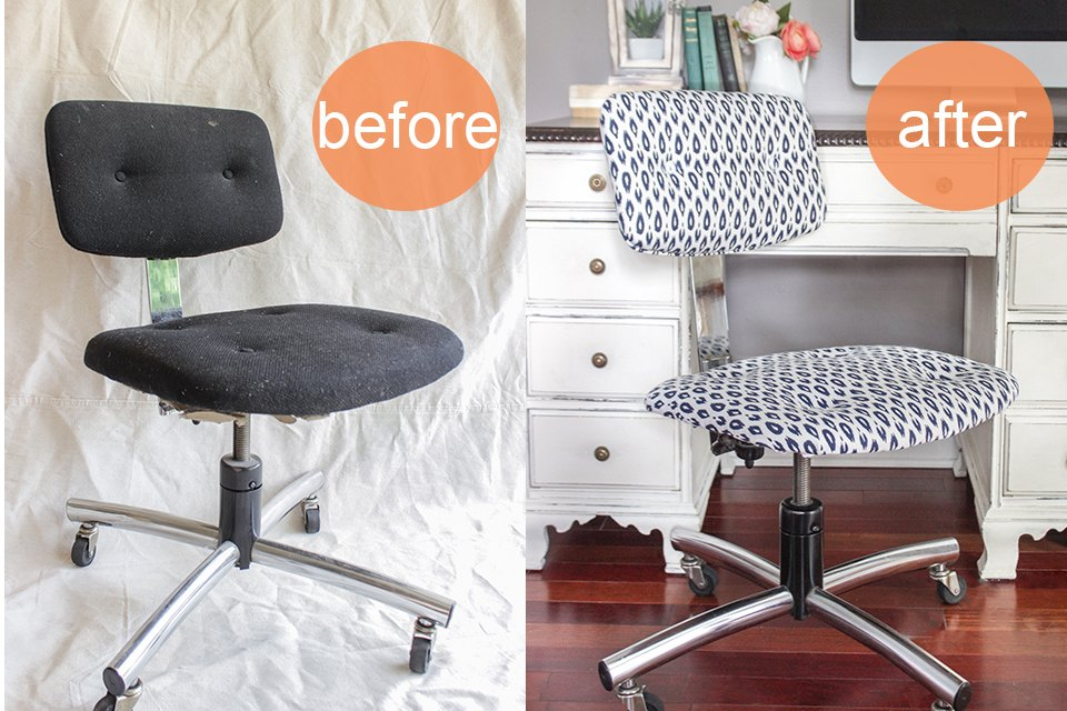 How To Reupholster An Office Chair Ehow